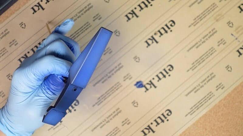 바예호 게임 컬러 타이탄 블루로 도색한 MG 제간 부품 이미지2