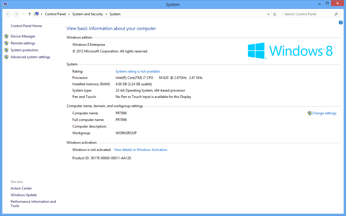 windows 8 product key to activate windows