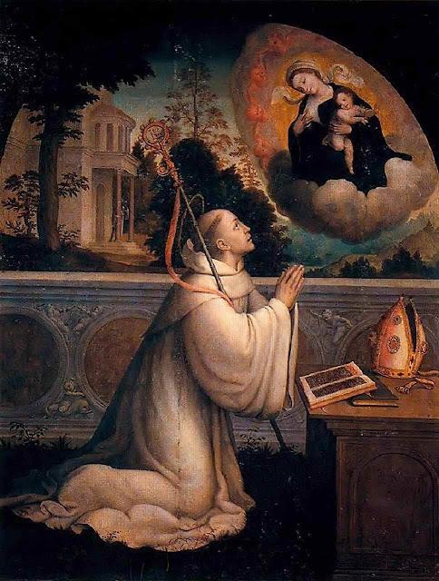 São Bernardo de Claraval. (Juan Correa de Vivar, 1510-1566)