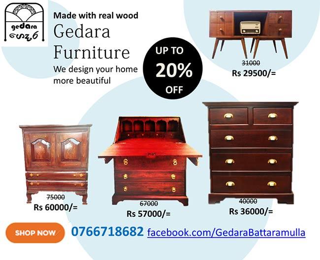 Gedara Furniture - Furniture Special Discounts