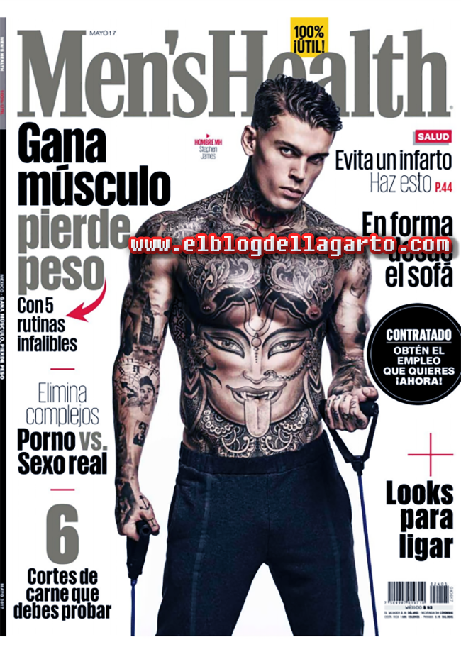 Men´s Health Mexico - Gana Musculo