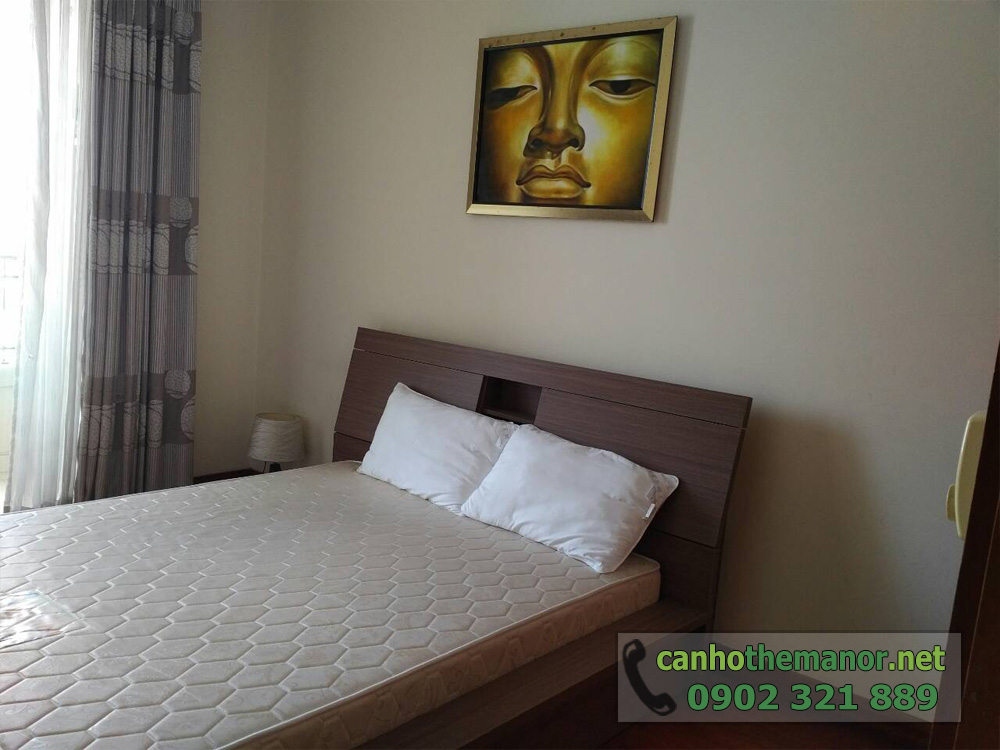 Căn hộ The Manor HCM tầng 10 diện tích 98m2 - phòng ngủ nhỏ