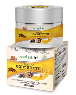 Aadya Life Body Butter (Mango Butter) for lush, smooth & healthy skin