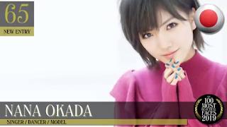 AKB48 Okada Nana ranked 65th by TC Candler