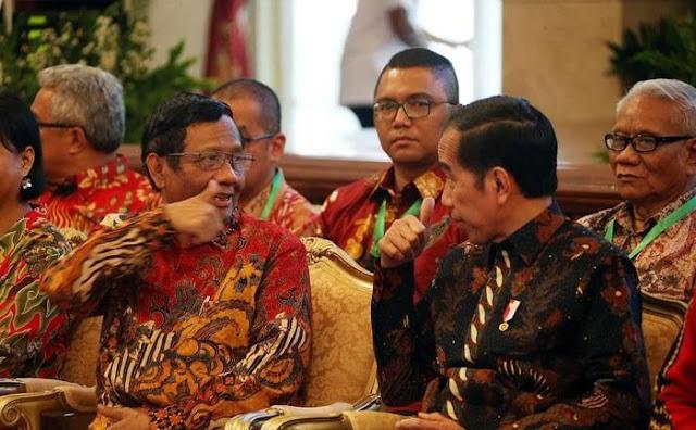 Mahfud Klaim Tak Ada Pelanggaran Konstitusi di Era Jokowi