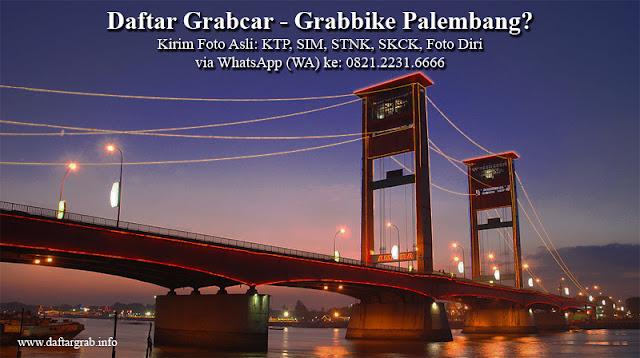 Daftar Grabcar Grabbike Palembang