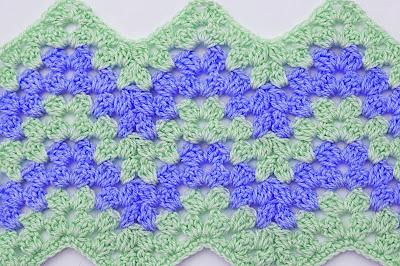 3 - Crochet Imagen Puntada zig zag a crochet por Majovel Crochet
