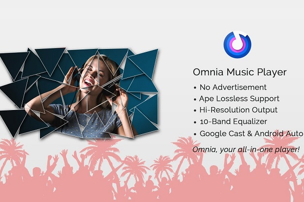 Omnia - Ένα σύγχρονο δωρεάν πρόγραμμα αναπαραγωγής μουσικής για Android smartphones