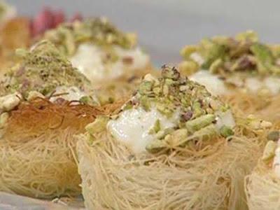 أكواب الكنافة بالقشطة - مطبخ منال العالم