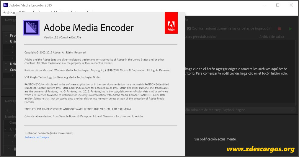 Adobe Media Encoder CC 2019 Full Español