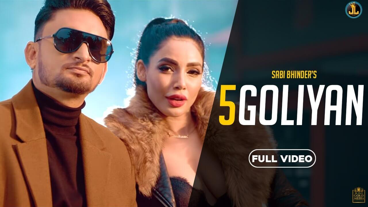 5 Goliyan lyrics in Hindi