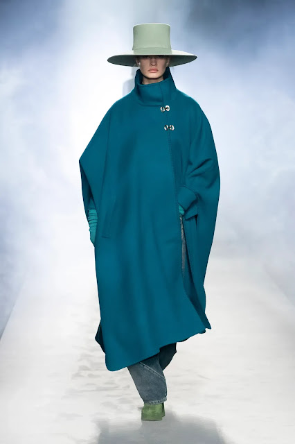 Alberta Ferretti Runway show Fall Winter 2021 at Milan Fashion Week by Kelly Fountain New York Fashion Blogger