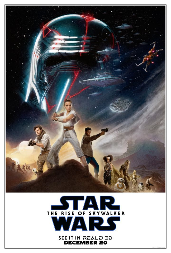 tros poster featuring rey