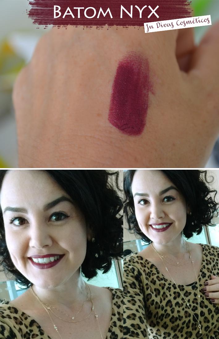 Joinville, Blogueira famosa, blog de moda, blog de acessórios, batom nyx, Ju Divas Cosméticos