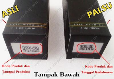 Perbedaan Kode Produksi Ombak Beard Oil Asli dan Palsu