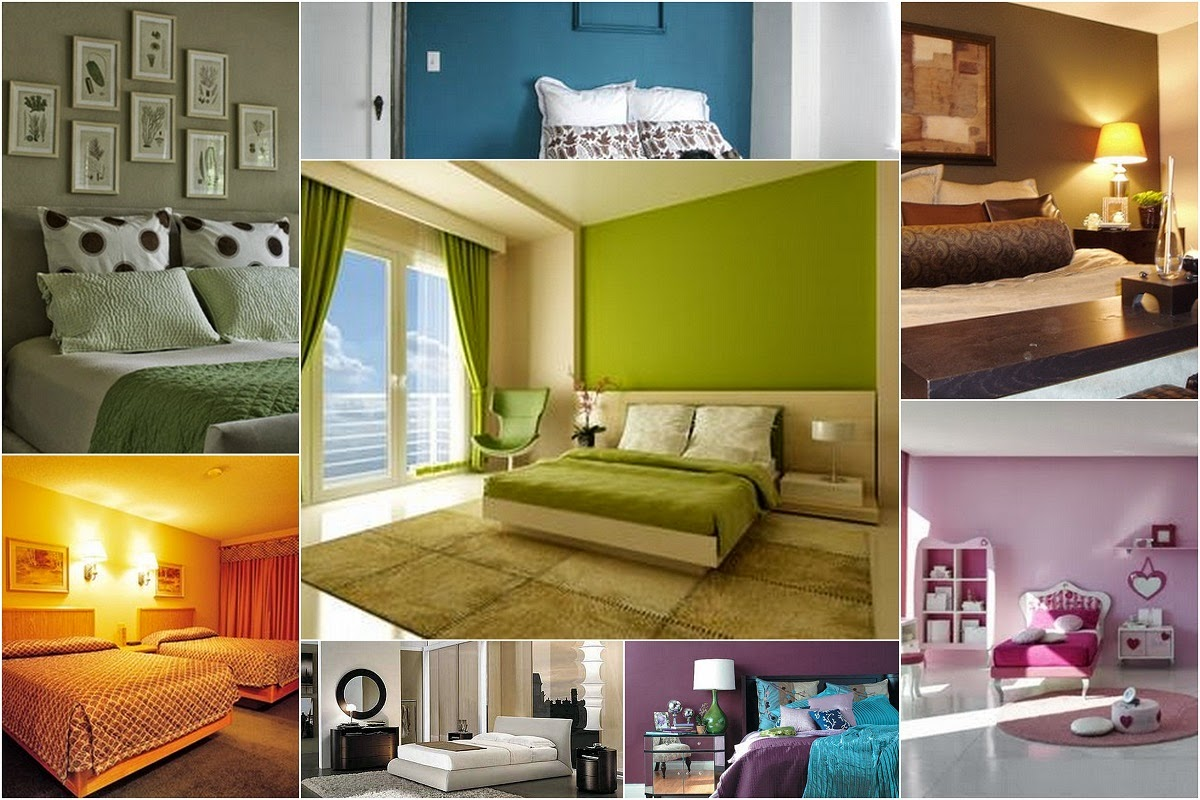 Bedroom Paint Colors Ideas For A Cold Summer - Interior4Design