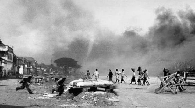 Kronologi Peristiwa Bandung Lautan Api 23-24 Maret 1946