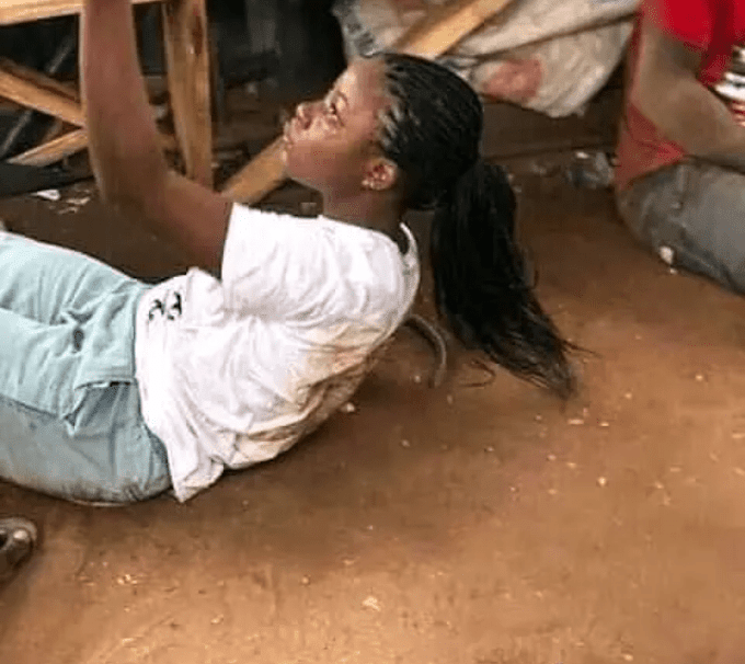 Lady Being Flogged for Posting Her Nude Photos And Twerk Video On Instagram (Watch Video)