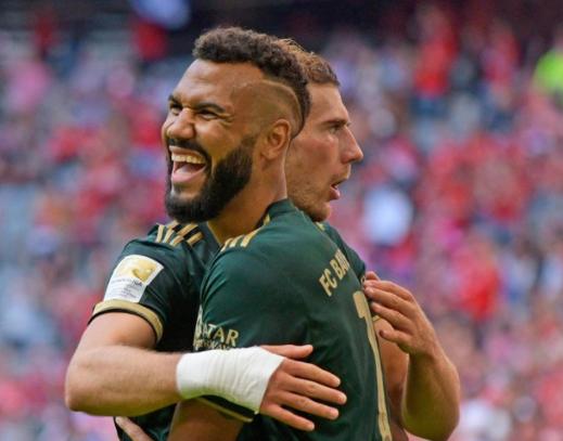 Bundesliga: Découvrez le but de Choupo-Moting