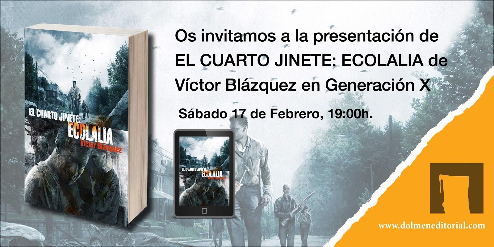 desdemimundo: Firmas y Presentaciones 295 - EL CUARTO JINETE va a MADRID