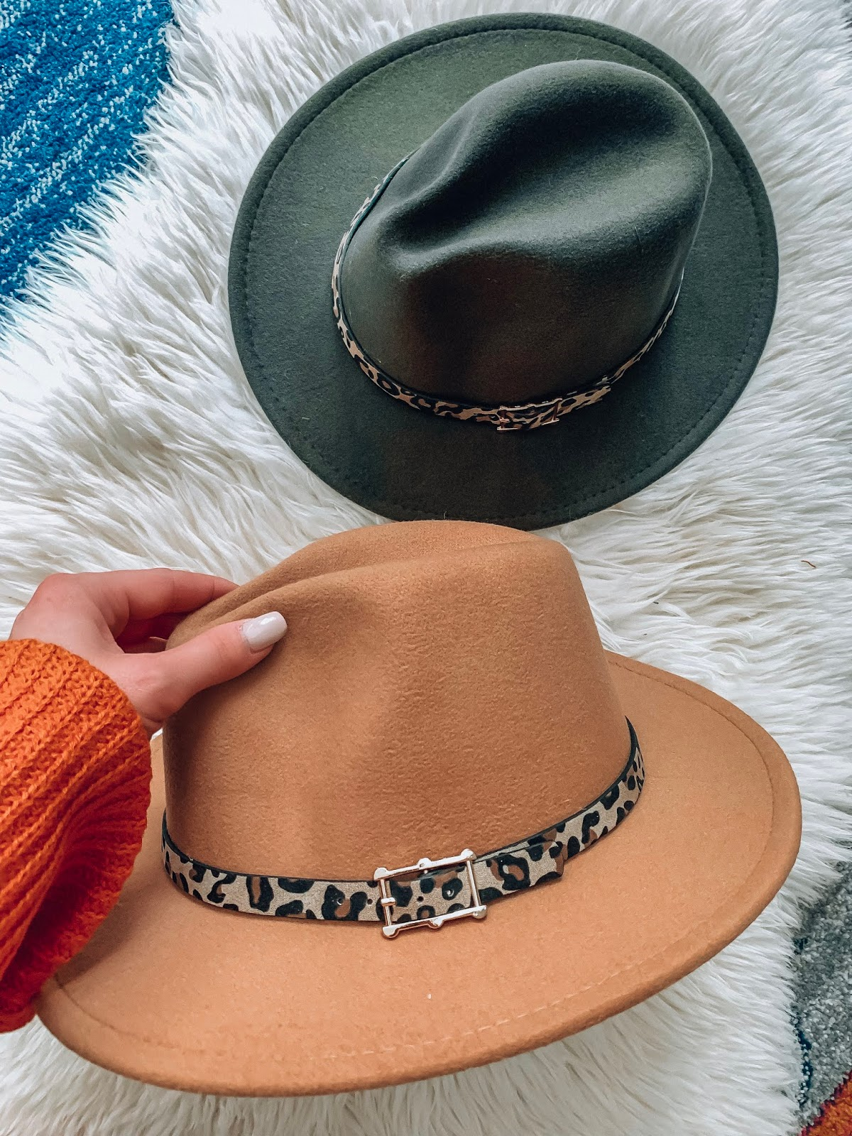 Recent Amazon Finds: $13 Wool Leopard Band Hat - Something Delightful Blog #fallstyle #affordablefashion #amazonfashion