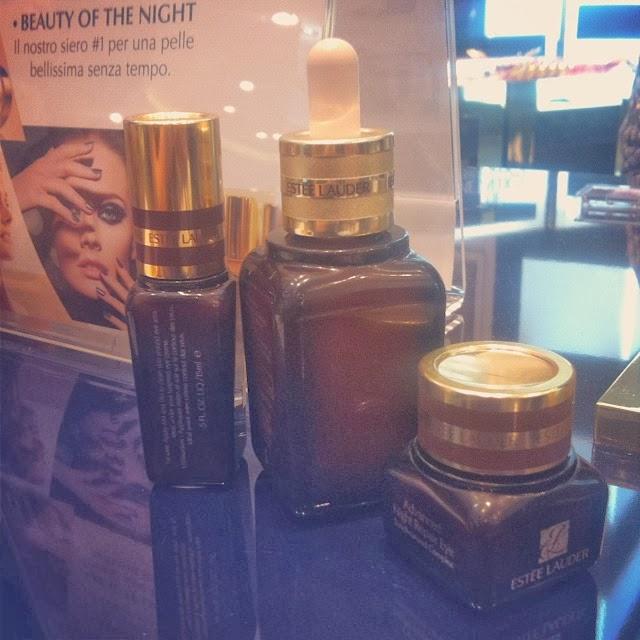 Estée Lauder Sephora Italia Milano maxi store corso vittorio emanuele beauty experience advanced night repair siero