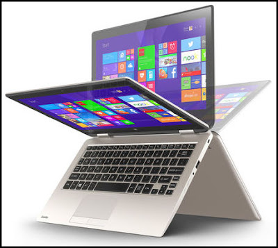Toshiba Convertible Laptop