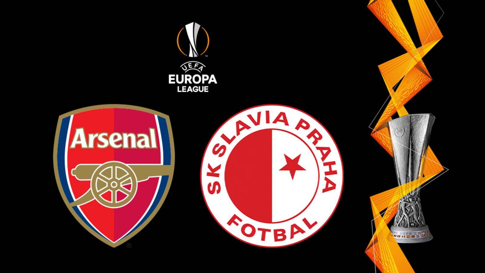 موعد مباراة أرسنال القادمة ضد سلافيا براج والقنوات الناقلة في الدوري الأوروبي