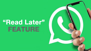 Whatsapp Read Later Feature to replace Archive Chat