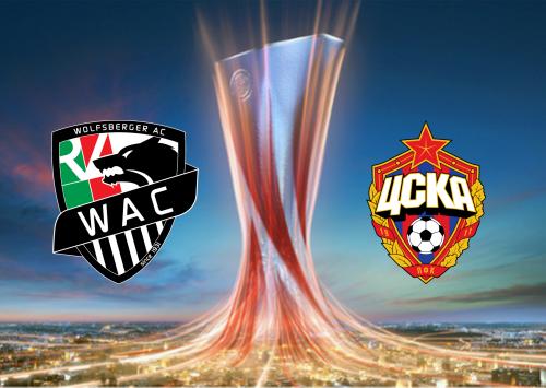 Wolfsberger AC vs CSKA Moscow -Highlights 22 October 2020
