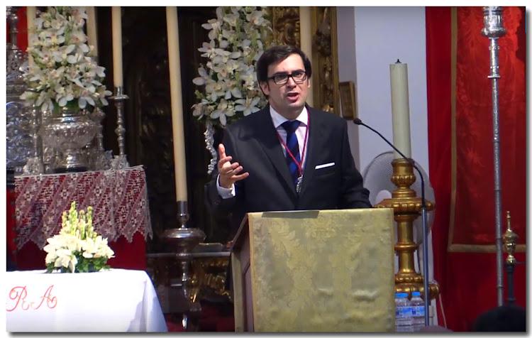 Pregón de la Romería de Valme en la Iglesia de Santa María Magdalena el 8 de octubre de 2017, a cargo de Tomás Muriel Rivas
