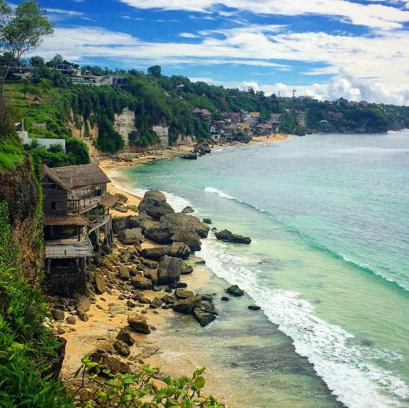 Gambar, Foto Obyek Wisata Pantai Dreamland Beach Bali
