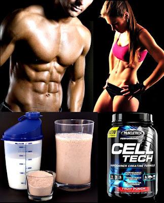 Celltech masa muscular desayuno