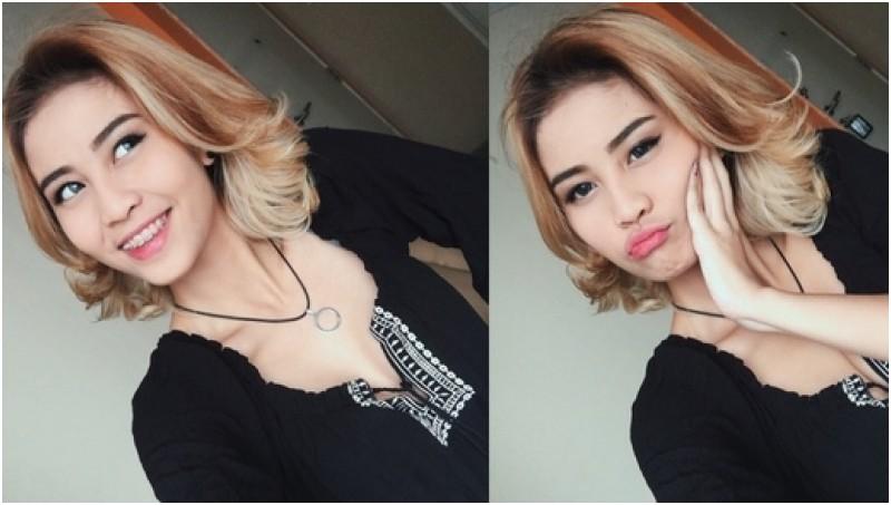 Tampang Awkarin (Karin Navilda), idola remaja di sosial media