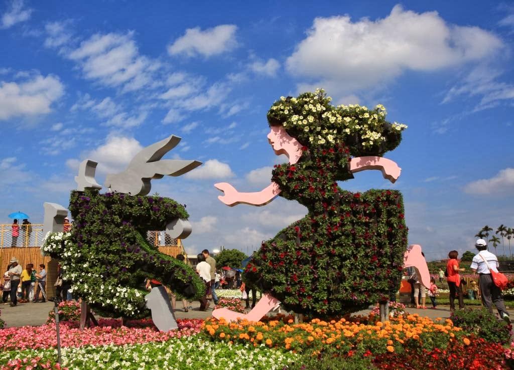 阿畢的天空: 2013臺中國際花毯節