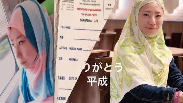 Kisah Muallaf Jepun Yang Hebat, Chiharu Nur Nadira, Inspirasi Buat Semua