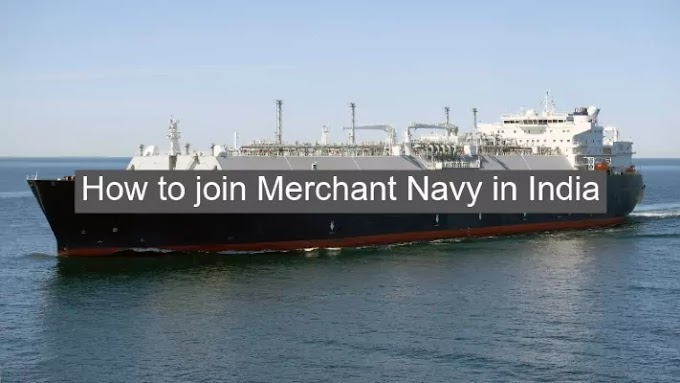 How to join Merchant Navy in India