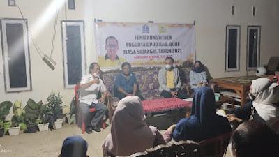 Temu Konstituen Anggota DPRD Bone Ade Ferry Afrisal di Kelurahan Bulu Tempe