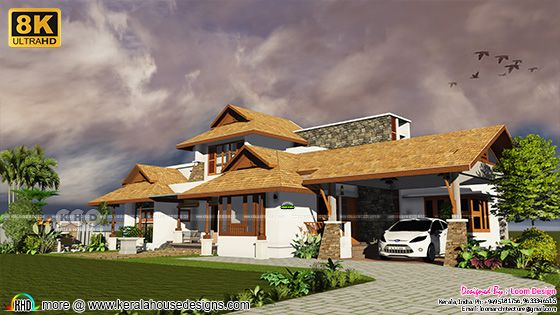 Traditional Out Look Residence at Ernakulam