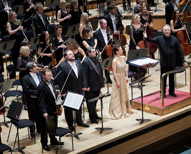 Puccini: Le Willis - Brian Mulligan, Arsen Soghomonyan, Ermonela Jaho, Sir Mark Elder & London Philharmonic  (Photo Russell Duncan)
