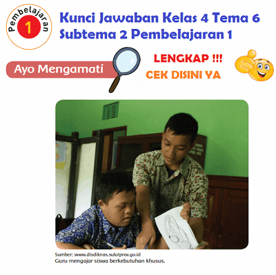 Lengkap Kunci Jawaban Kelas 4 Tema 6 Subtema 2 Pembelajaran 1 Kunci Jawaban Tematik Lengkap Terbaru Simplenews