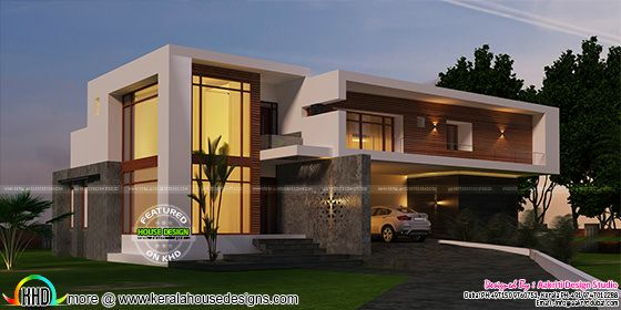 Super luxury contemporary style home