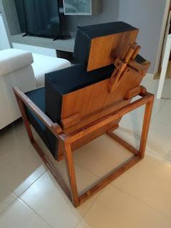 Sillón de madera DIY