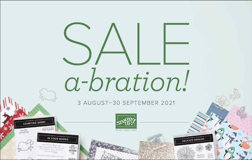 August-September 2021 Sale-A-Bration