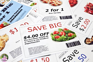 Photo of fake coupons.