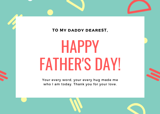 Special Day for Fathers