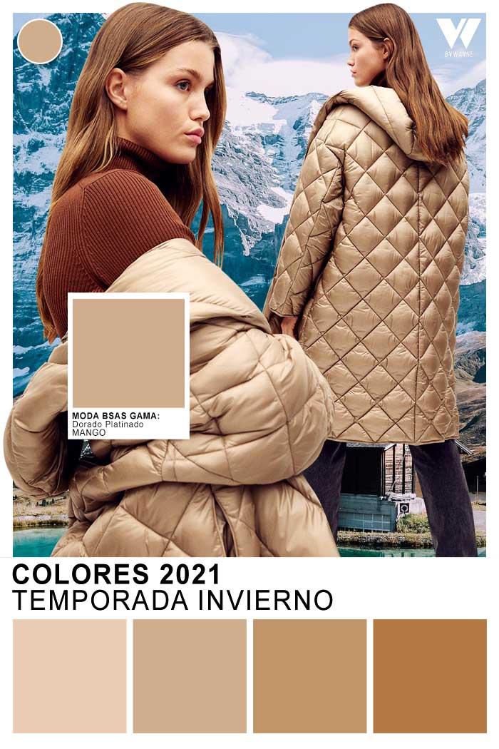 Moda otoño invierno 2021 colores