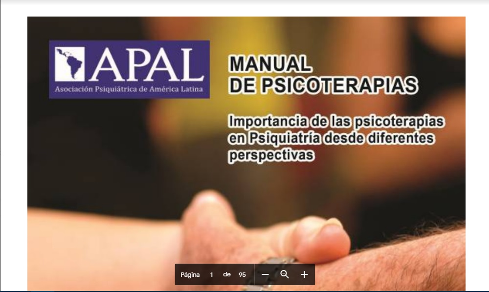 Manual de Psicoterapias. PDF