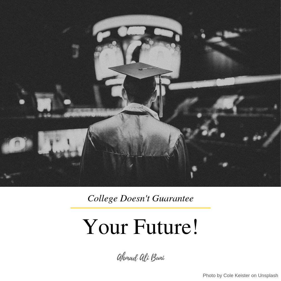 kuliah tidak menjamin masa depan