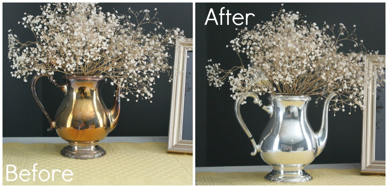 De-Tarnish Silver Before & After